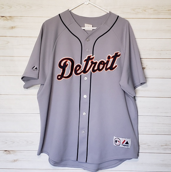 5cb38b9a487 Majestic Other - Authentic Detroit Tigers Away Jersey by Majestic
